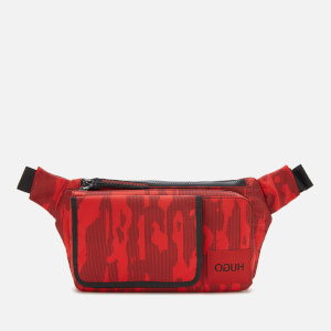 HUGO Men's Kombinat C Cross Body Bag - Red