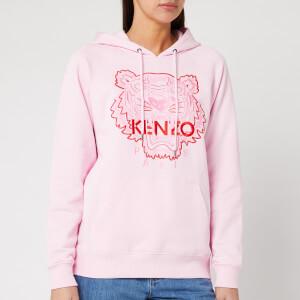 KENZO Women's Hoody Icon Bicolor - Pastel Pink