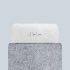 Feel Me Embroidered Hand Towel