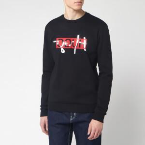 HUGO Men's Dicago 201 Crew Neck Sweatshirt - Black