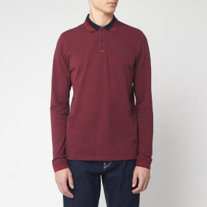 HUGO Men's Donol 201 Polo Shirt - Dark Red