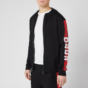 HUGO Men's Dalz Zip-Through Hoody - Black