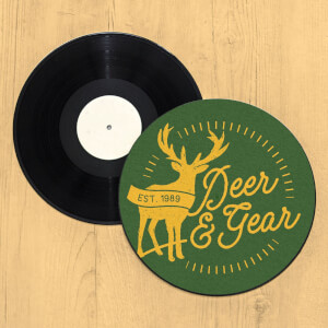 Deer & Gear Record Player Slip Mat