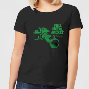 Full Metal Jacket Camera Women's T-Shirt - Black
