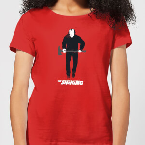 The Shining Jack With An Axe Women's T-Shirt - Red