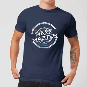 Crystal Maze Maze Master Men's T-Shirt - Navy
