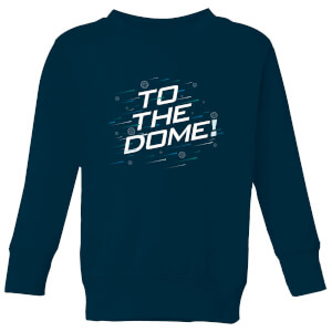Crystal Maze To The Dome! Kids' Sweatshirt - Navy
