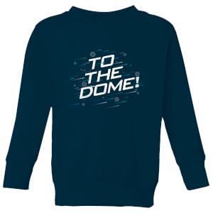 Crystal Maze To The Dome! Kids' Sweatshirt - Navy