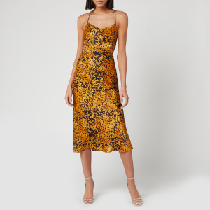 Bec & Bridge Women's Turtle Rock Midi Dress - Tortoise Print