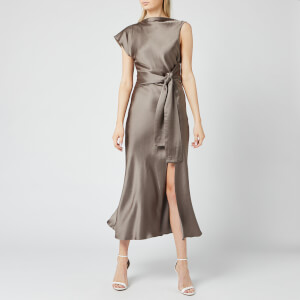 Bec & Bridge Women's Piper Aysm Midi Dress - Olive