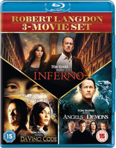 Inferno, Angels & Demons & Da Vinci Code Boxset (Non Uv 2019 Repackage)