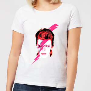 David Bowie Aladdin Sane Women's T-Shirt - White