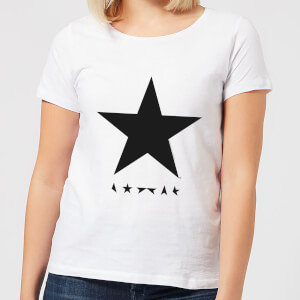 David Bowie Star Women's T-Shirt - White