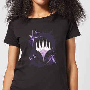 Magic The Gathering Throne of Eldraine Fairytale Women's T-Shirt - Black