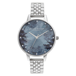 Olivia Burton Women's Under The Sea Bracelet Watch - Silver