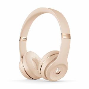 Beats By Dr. Dre Solo 3 Wireless On-Ear Headphones - Satin Gold