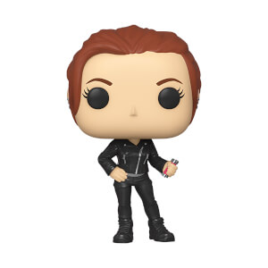 Marvel: Black Widow - Black Widow (Street) Figura Funko Po!