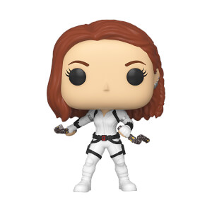 Figura Funko Pop! - Black Widow (Traje Blanco) - Marvel: Black Widow