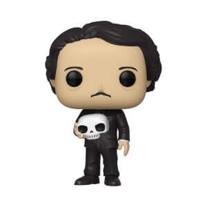 Edgar Allan Poe with Skull Funko Pop! Vinyl