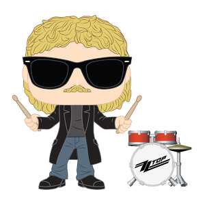 Pop! Rocks ZZ Top Frank Beard Pop! Vinyl Figure