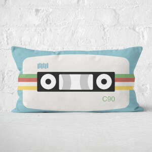 Cassette Tape Rectangular Cushion