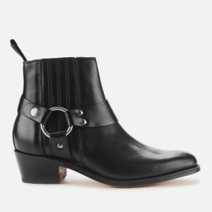 Grenson Women's Marley Leather Heeled Ankle Boots - Black