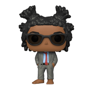 PIAB UK NYCC 2019 Jean-Michel Basquiat EXC Pop! Vinyl Figure