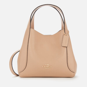 Coach Women's Polished Pebble Leather Hadley Hobo 21 - Beechwood