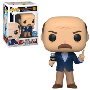 Figurine Pop! J. Jonah Jameson EXC PIAB Marvel - Spider-Man Far From Home