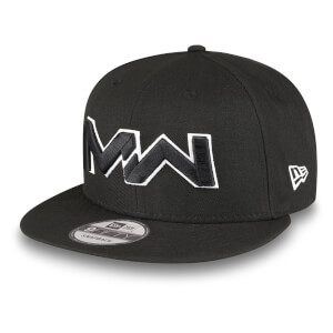 Gorra New Era X Call of Duty Modern Warfare Black 9Fifty - Logo