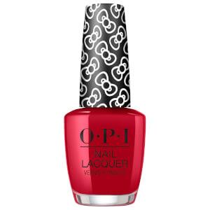 OPI Hello Kitty Limited Edition Nail Polish - A Kiss on the Chìc Infinite Shine 15ml