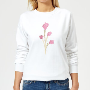 Flower 17 Women's Sweatshirt - White