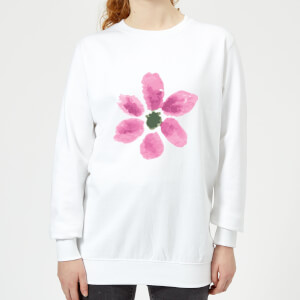 Flower 7 Women's Sweatshirt - White