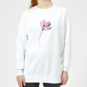 Flower 13 Women's Sweatshirt - White