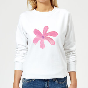 Flower 11 Women's Sweatshirt - White