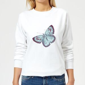 Butterfly 6 Women's Sweatshirt - White