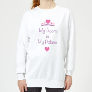 My Room Is My Palace Women's Sweatshirt - White