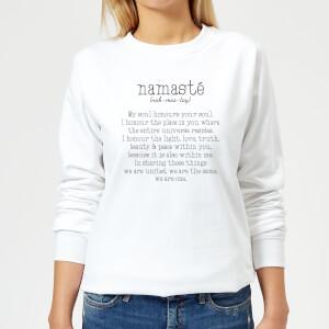 Namaste Women's Sweatshirt - White