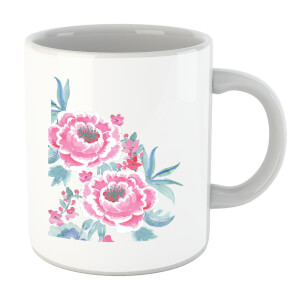 Camellia Pink Flower Mug
