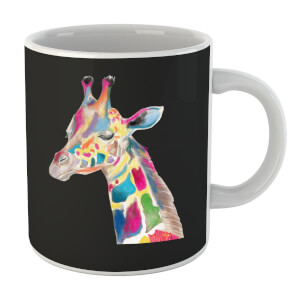 Multicolour Watercolour Giraffe Mug