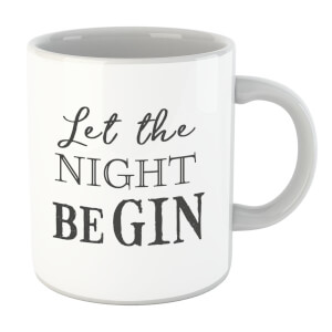 Let The Night Be Gin Mug