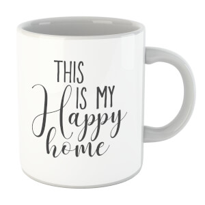 This Is My Happy Home Mug