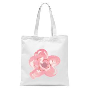 Flower 4 Tote Bag - White