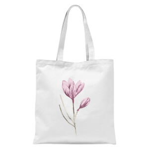 Flower 15 Tote Bag - White