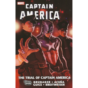 Captain America Trial Of Captain America Trade Paperback