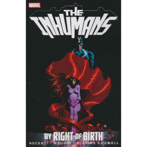 Marvel Inhumans Trade Paperback By Right Of Birth