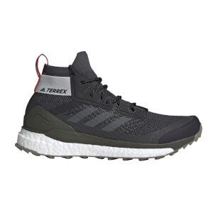 adidas Men's Terrex Free Hiking Boots - Core Black/Grey Six/Night Cargo