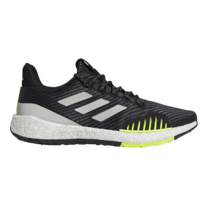 adidas Pulseboost HD PRCT Running Shoes - Black/Grey/Yellow