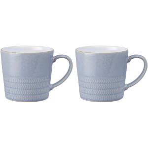 Denby Natural Denim 2 Piece Mug Set