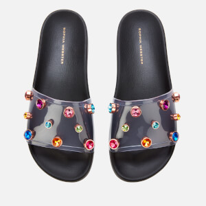 Sophia Webster Women's Dina Slide Sandals - Black